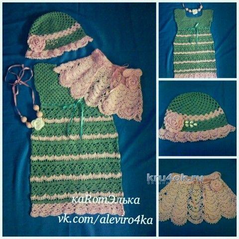 девочки крючком вязание и