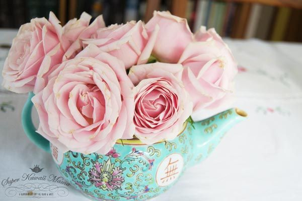 life-cocogirl: Rose Tea Origin / rose tea benefits CTS20love the colors-so pretty