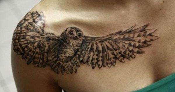 Uiltatoeages Owl and Uil tattoo-ontwerp on Pinterest
