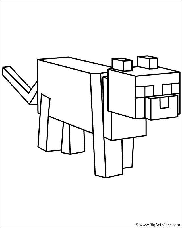Pin By Connie Wilkins On Minecraft Minecraft Coloring Pages Coloring Pages Minecraft Cat