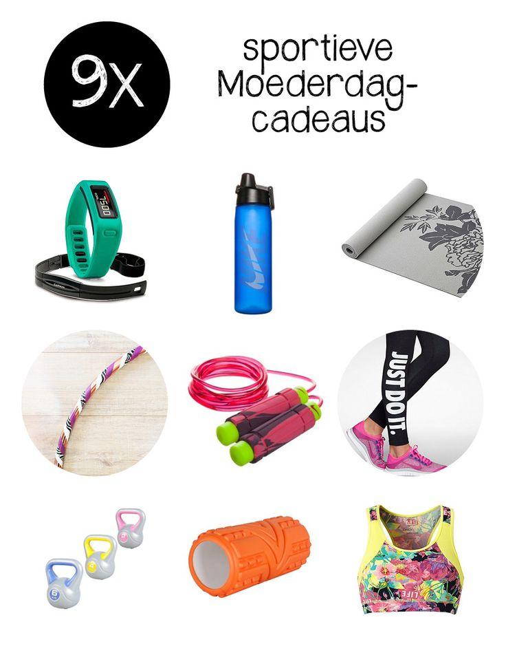 Op zoek naar een cadeau voor jouw fitte & gezonde moeder? We zetten negen sportieve Moederdag cadeautjes op een rij.