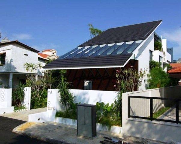 Contoh Desain Atap Rumah Minimalis