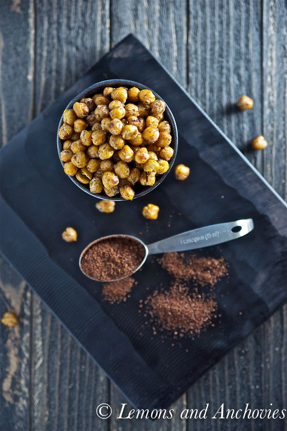 roasted chickpeas with sumac {spice gives a lemony punch} @Jean | Lemons and Anchovies