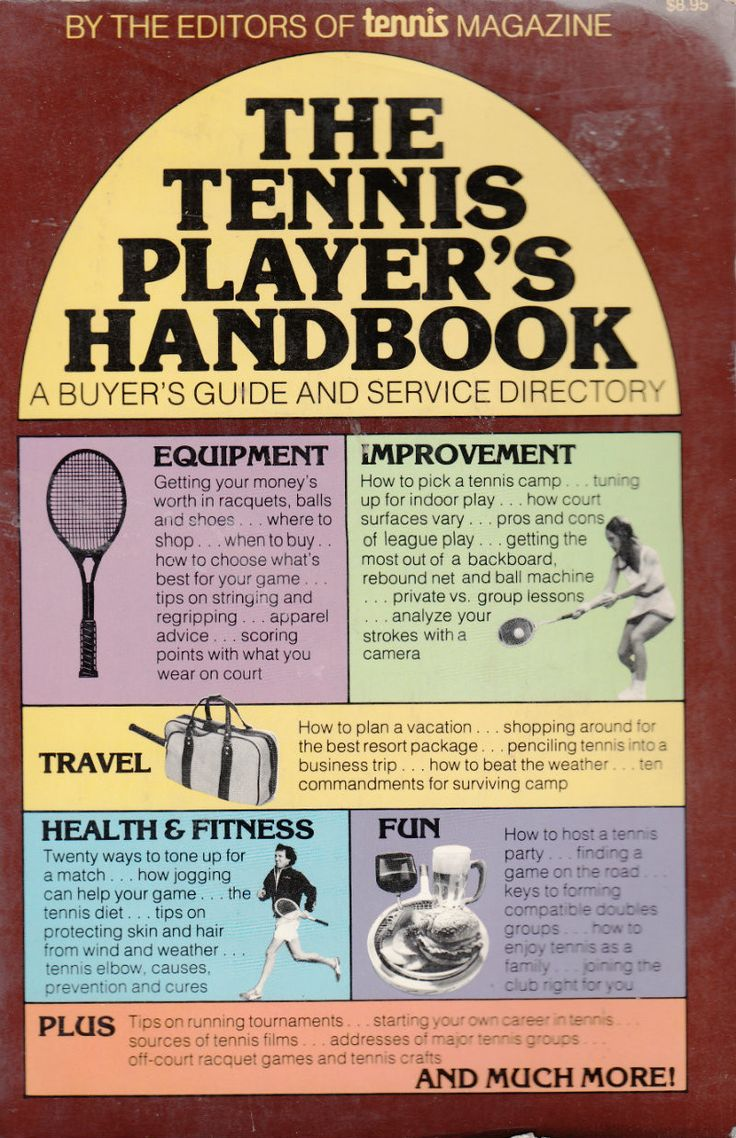 The Tennis Player's Handbook: A Buyer's Guide and Service Directory