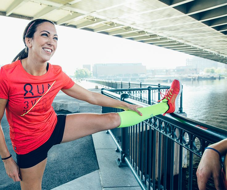 A running style isn't complete without neon socks!