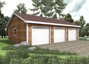 1000 images about hammond lumber garage packages on for 3 bay garage cost