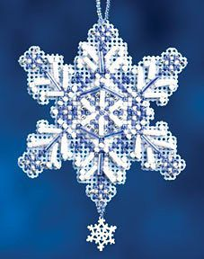 Sapphire Crystal Cross Stitch Kit | sewandso