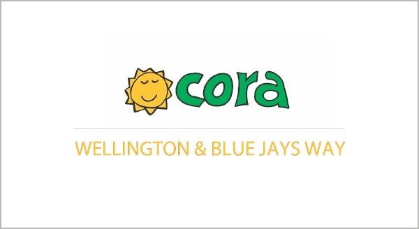 Cora is known for its awesome breakfast, lunch and brunch locations including this one near the Skydome / Rogers Centre on Wellington Street in downtown Toronto.  http://streets.to/assets/recent/coratoronto.php