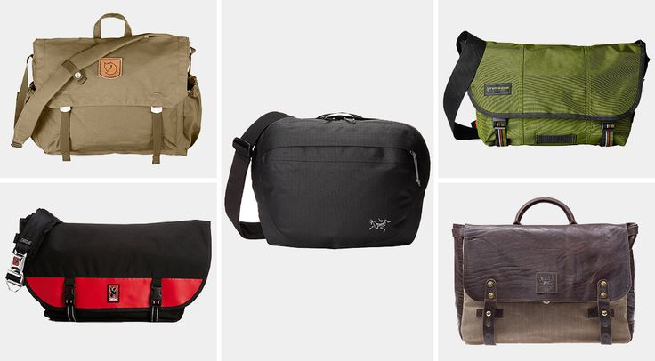 Messenger bags are the ultimate man bag—and we've rounded up the best ones to make your daily commute a little more enjoyable.