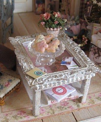 25 beste idee n over tafel spiegel op pinterest oneindigheidspiegel huis ingang decor en - Tafel josephine wereldje van het huis ...