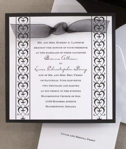 Formal Wedding Invitation Sentences.