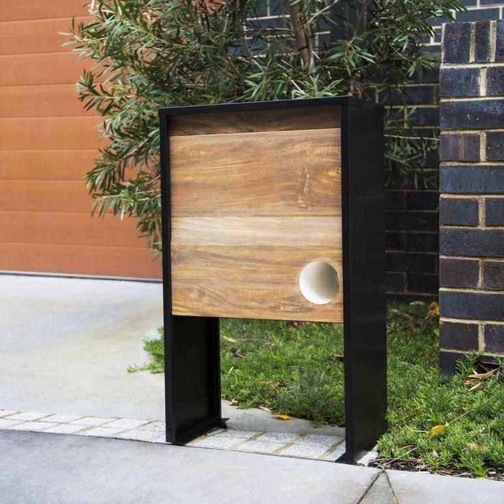 Northcote Pottery 27 x 50 x 84cm Spence Pillar Letterbox