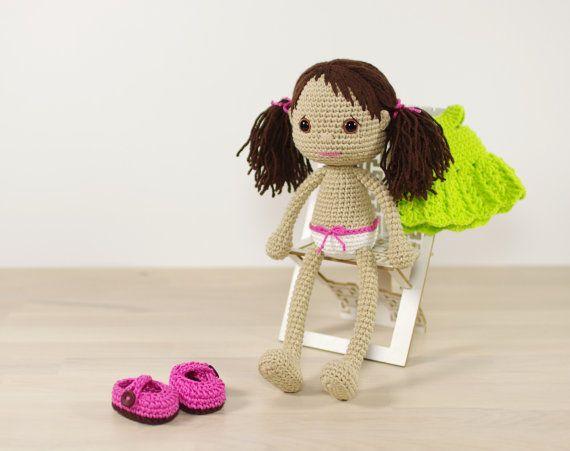 Crochet Pattern Doll : 78 best amigurumi doll body pattern images on pinterest