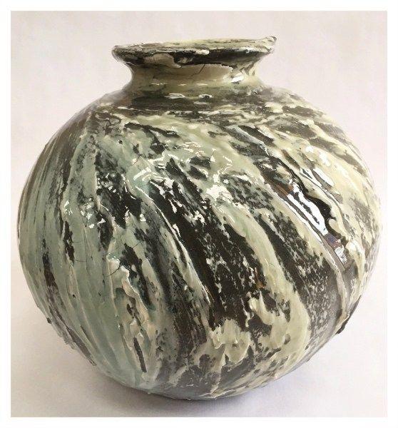 Large Rounded Vase by Alex Shimwell