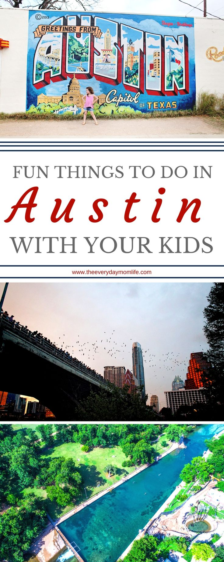 10 Things To Do In Austin With Kids #travel #traveltips #familytravel #familyvacation