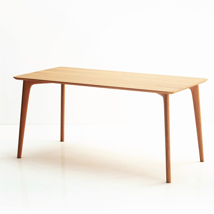 Обеденный стол Iggy светлый дуб от бренда The Idea — купить в интернет-магазине