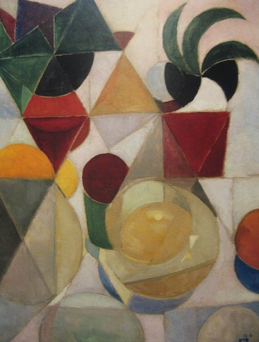 Theo van Doesburg, Composition III (Still Life) 1916