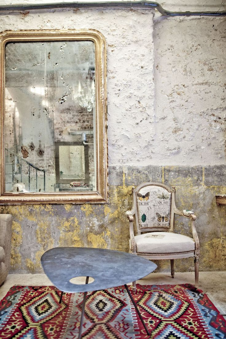 Paris : Antique Chic, le loft de Laure et Bertrand.