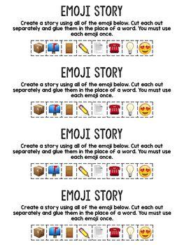 Emoji Story- A Writing Prompt using Emoji