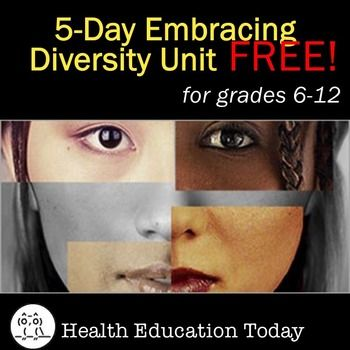 Embracing Diversity Lessons FREE!  Get these powerful lessons to help students understand that individual identity is shaped by many factors, including: individual characteristics; who the world says I am; empathy or lack of empathy for others; dominant and subordinate social groups; implicit bias; and the power and privilege, or lack of both, that go with these groups. FREE!
