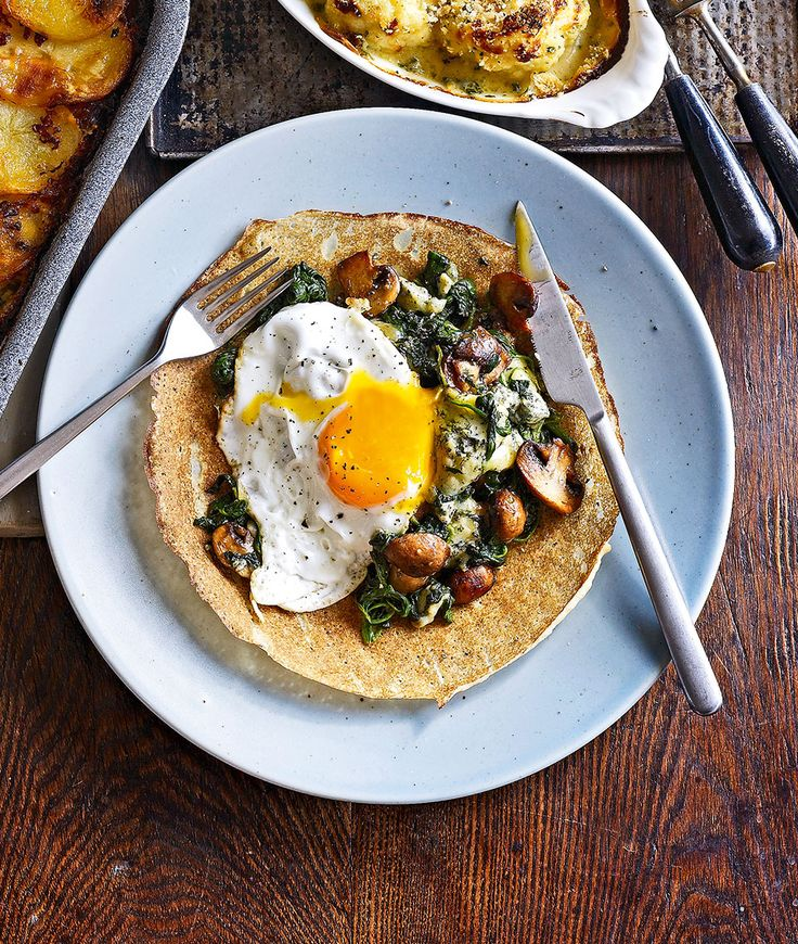 Because pancakes are the culinary equivalent of a blank canvas, they're very versatile. Savoury pancakes are just as, if not more, delicious than the sweet ones.