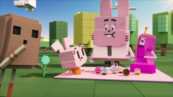 Cartoon Network LATAM. Voxel ID on Vimeo