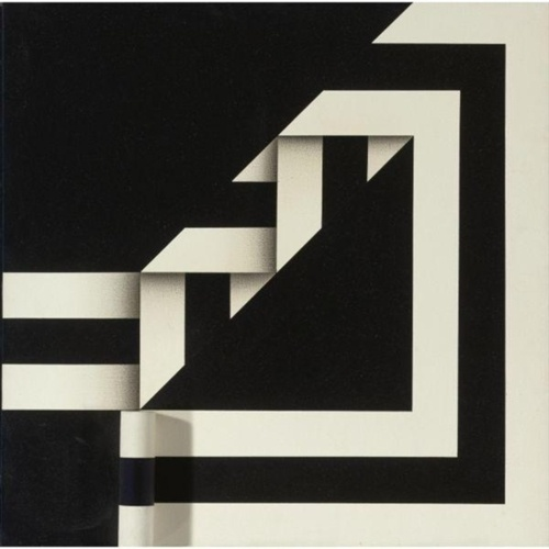 Omar Rayo: Easy To Fall, acrylic and wood construction on canvas, 1966
