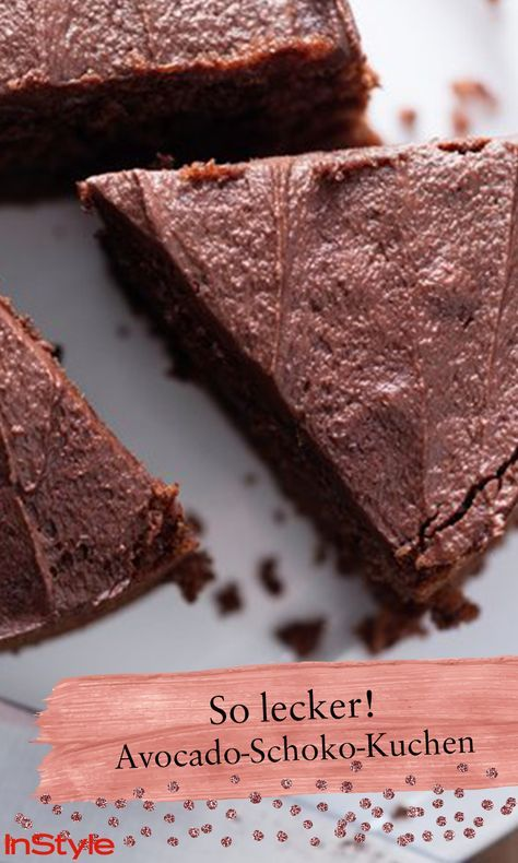 Glutenfrei, vegan und super lecker: Avocado-Schoko-Kuchen – Vegane Rezepte