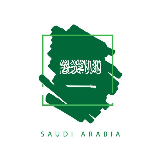 Saudi Arabia Brush Logo Vector Template Design Illustration Saudi National Day Saudi Arabia National Day Saudi National Day Logo Icons Template Icons Brush I National Day Saudi Vector Logo Instagram Logo