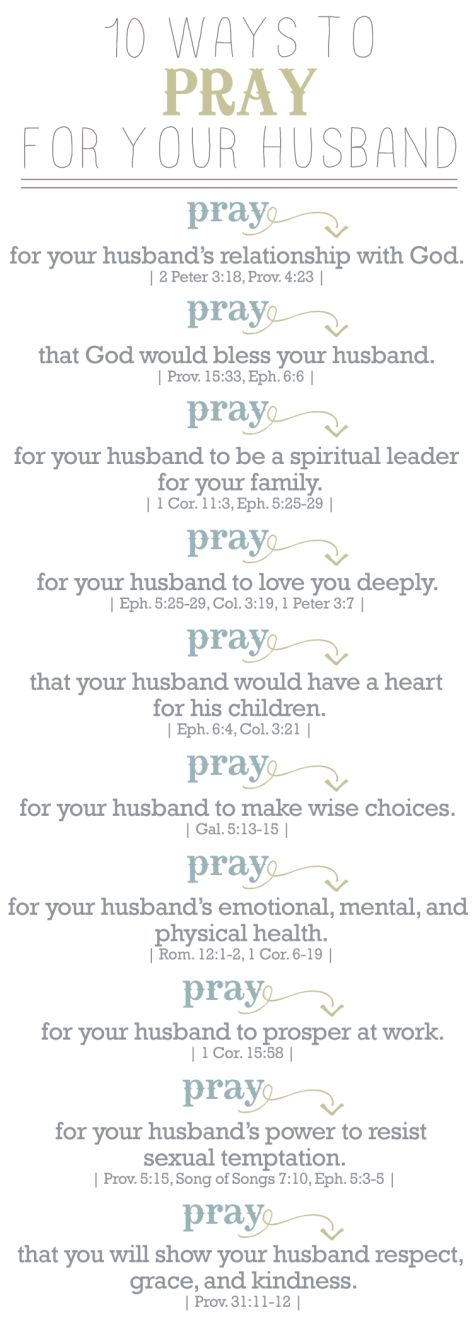 10 Ways to Pray for Your Husband | designbylulu