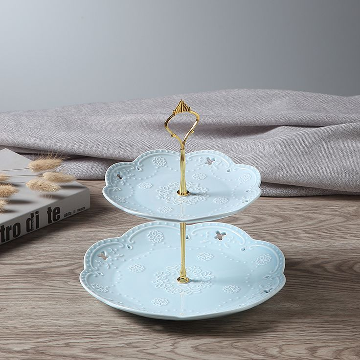 2c8c6489b0630f86341d8b1468b52192---tier-cake-cake-tower.jpg & 16 best Square Ceramic 2 Tier Cake Stand Dishes images on Pinterest ...