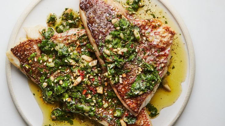 Za'atar's depth backs up the freshness of parsley and cilantro in this Middle Eastern riff on a classic salsa verde.
