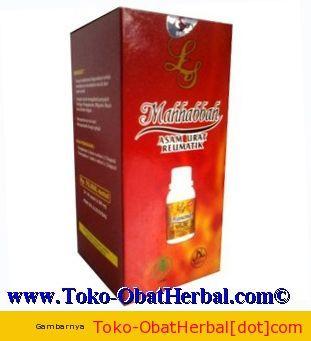 Herbal Penyakit Asm Urat - Mahhabbah asam urat rematik 30 kapsul