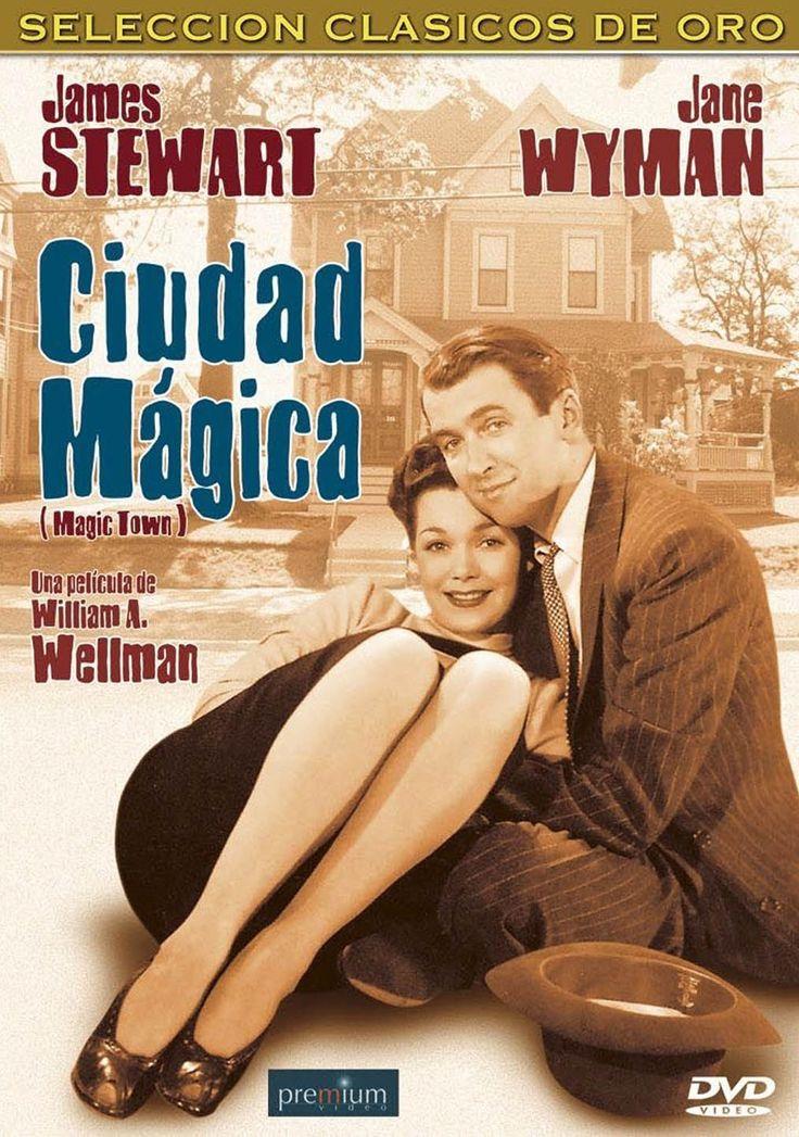 La ciudad mágica (1947) EEUU. Dir: William A. Wellman. Comedia. Romance. Medios de comunicación. Cine social - DVD CINE 2287