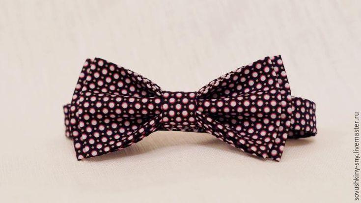 Как легко и просто сшить галстук-бабочку - Ярмарка Мастеров - ручная работа, handmade