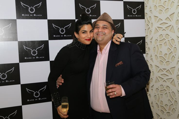 Priya Sharma & Akiv Ali at Bare in Black Launch.