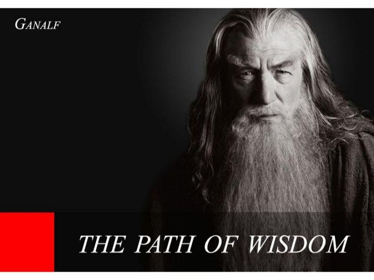 Ganalf - The Path Of Wisdom by SeoCustomer.com via slideshare