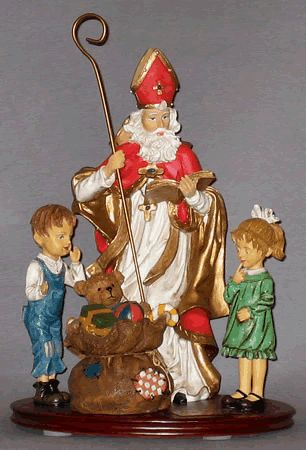 Letters and Treat for St. Nicholas Day