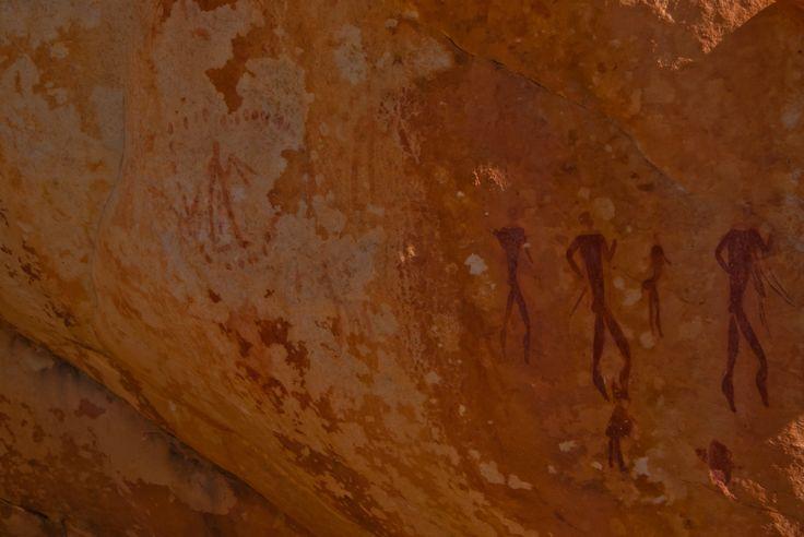Bushman paintings @ kagga kamma