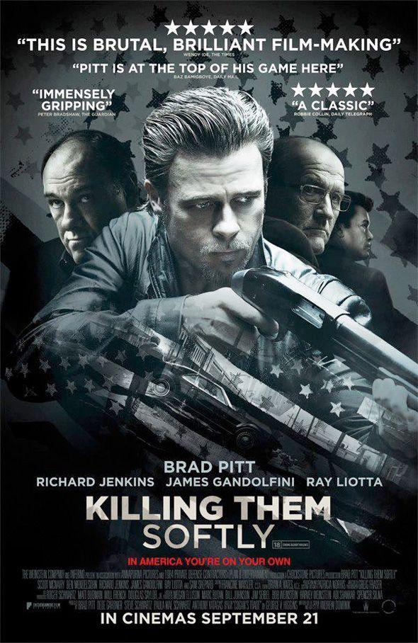 New International Poster for KILLING THEM SOFTLY with BradPitt - News - GeekTyrant...loved it...