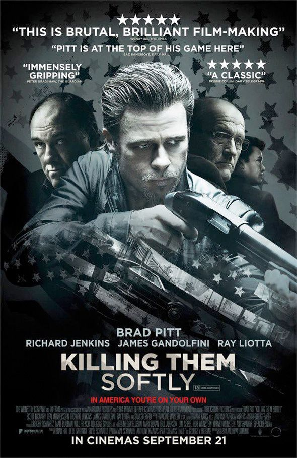 New International Poster for KILLING THEM SOFTLY with Brad Pitt - News - GeekTyrant...loved it...