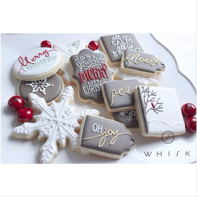 Let's start this week off right, shall we? Introducing our Signature Holiday Collection. {And there's more to come this week!!} #sugarcookies #christmassugarcookies #shopthewhisk