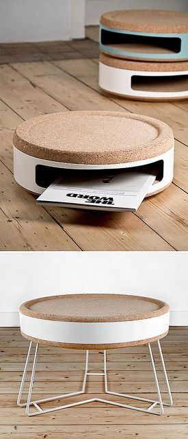 Kork is a family of products celebrating the wonderful material cork and its many applications. Designed by TwoDesigners. http://www.design-vagabond.com/