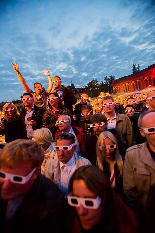 Poznan Poland, Malta Festival 2013, koncert Kraftwerk [fot.Marcin Oliva Soto].