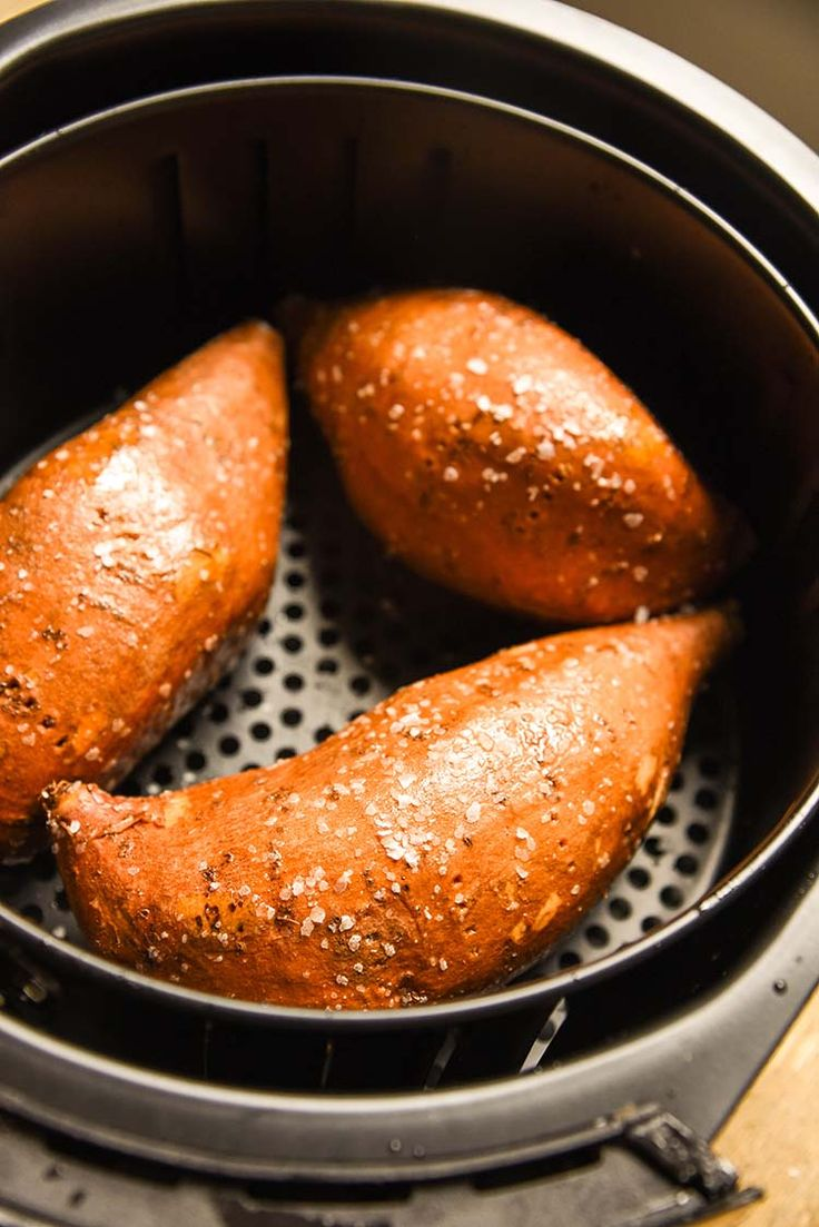 Air Fryer Baked Sweet Potato Recipe Results In A Sweet