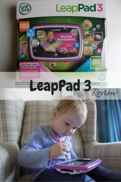 LeapPad 3 Review - the learning tablet from Leapfrog perfect for toddlers, preschoolers and older children - designed for children aged 3-9 promotes learning and is lots of fun too