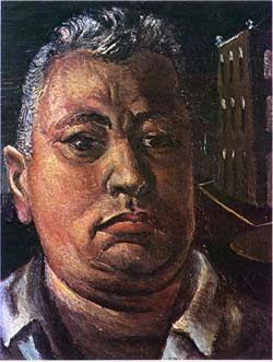 1897 - Di Cavalcanti - Emiliano Augusto Cavalcanti de Albuquerque e Melo-(Rio de Janeiro, 6 de setembro de 1897 — Rio de Janeiro, 26 de outubro de 1976) foi um pintor modernista, desenhista, ilustrador, muralista e caricaturista brasileiro. Auto-retrato,1943