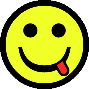 smiley 1 tong FC sticker