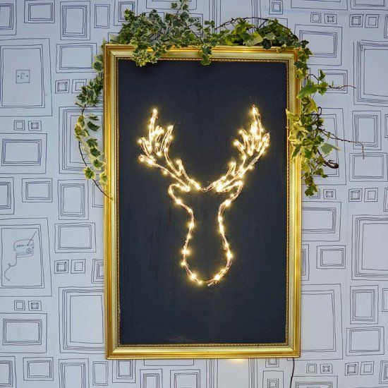 It is really simple and cheap to make your own brilliant LED Christmas decoration.