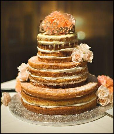 Wedding Cake Without Icing